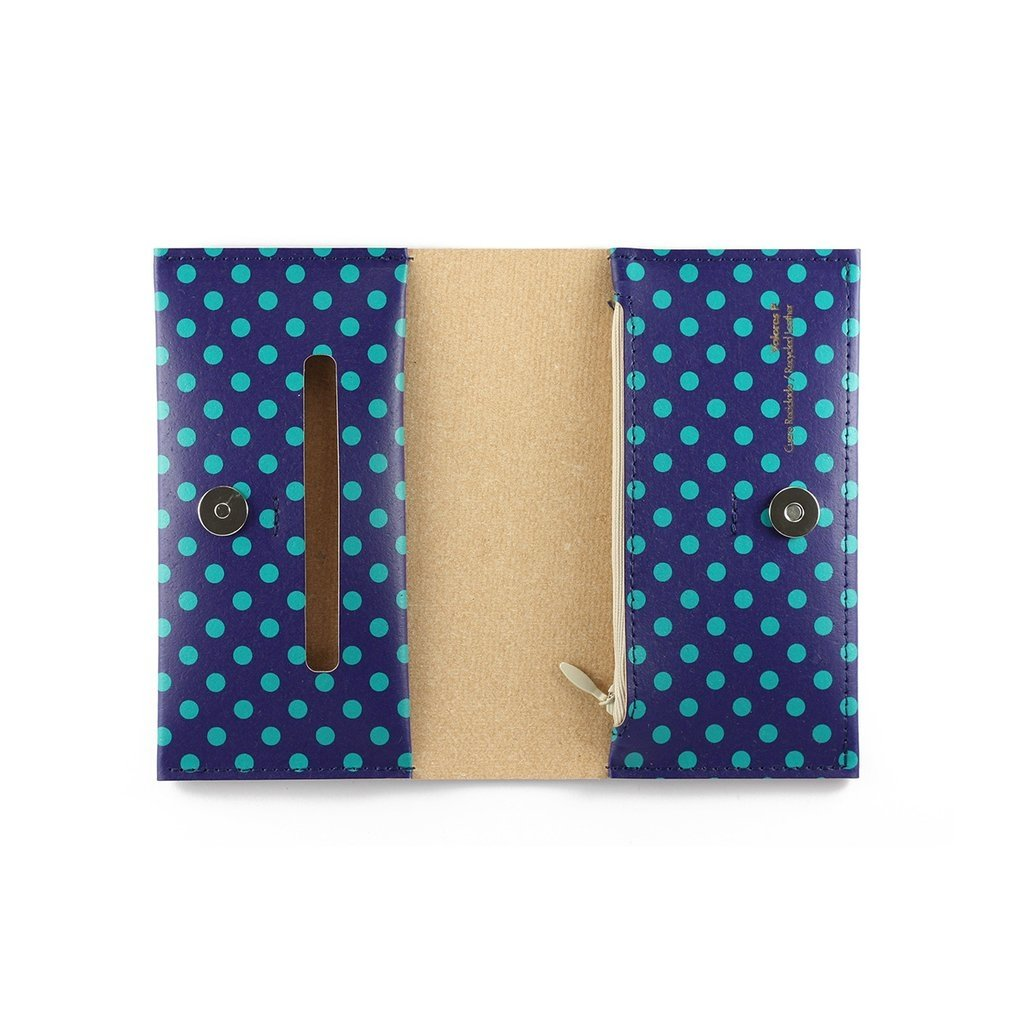 P Wallet Dots Green - buy online