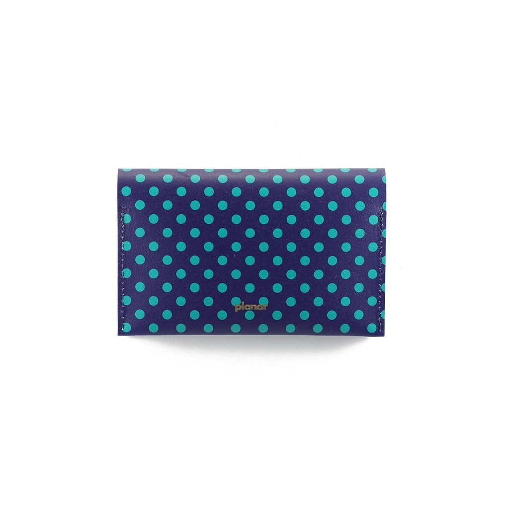 P Wallet Dots Green on internet