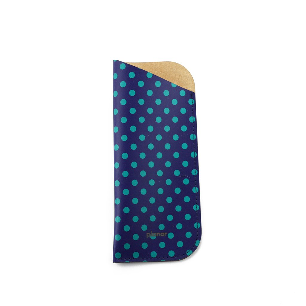 Glasses Sleeve Dots Green - buy online