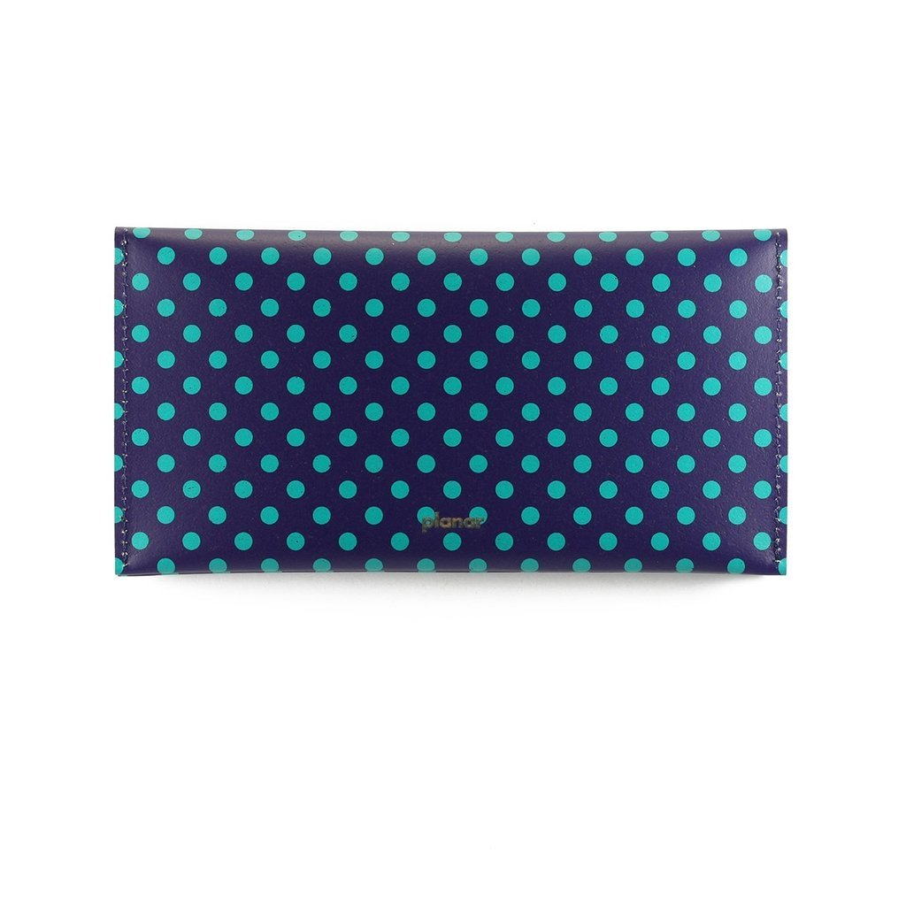 L Wallet Dots Green on internet