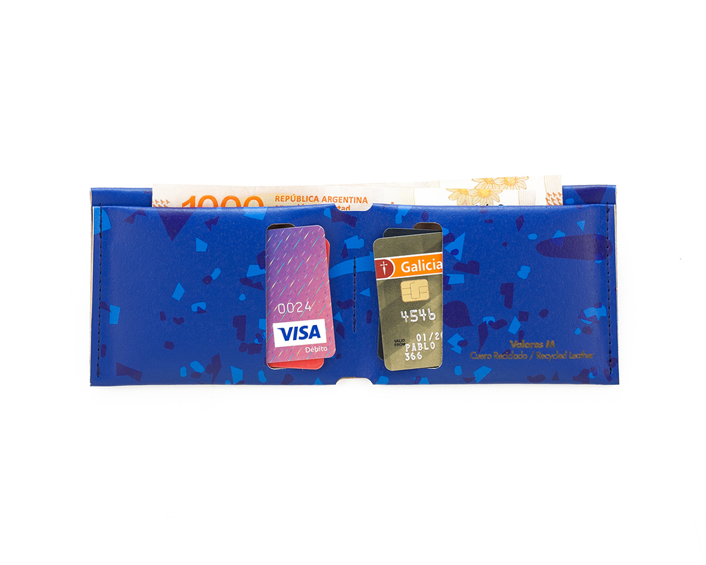 M Wallet Celebration Blue