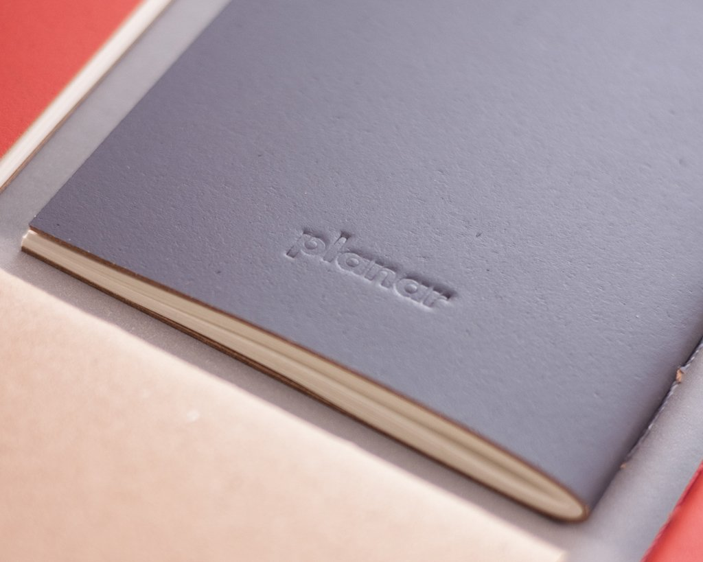 A5 Notebook Solid Grey