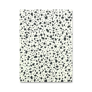 A5 Notebook Stones Yellow
