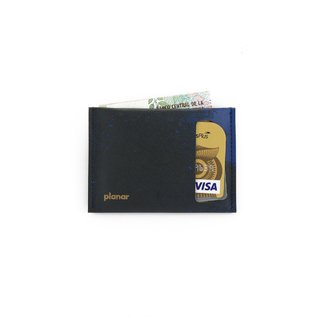 S Wallet Strokes Black