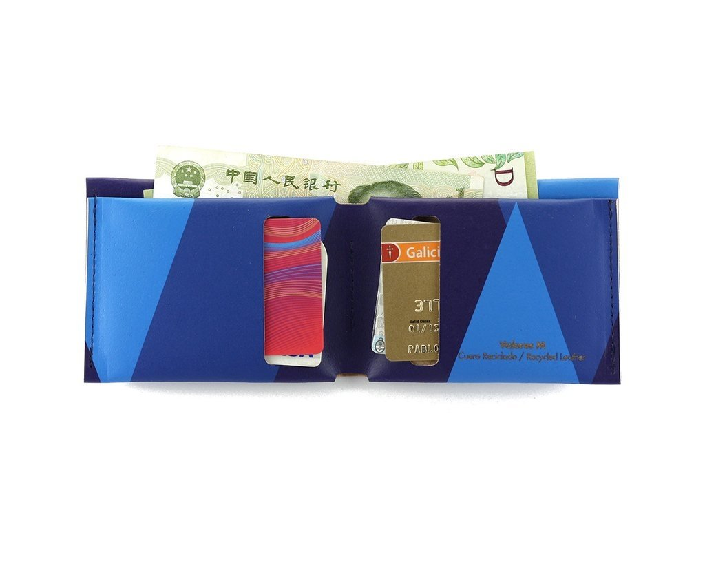 M Wallet Tones Blue