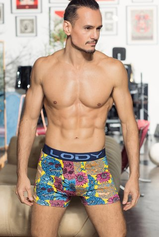 Boxer Lody Men Estampado