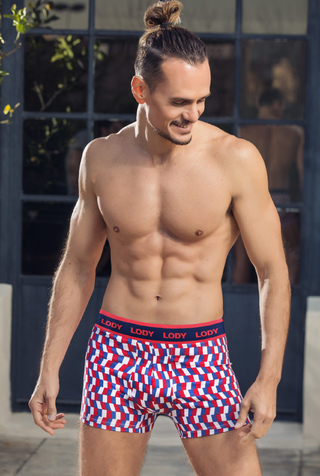 Boxer Hombre Lody Men Estampado France