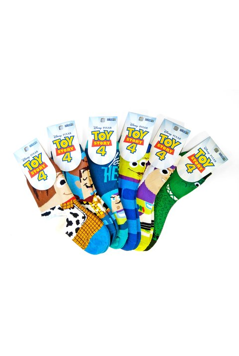 Medias Pack x12 media caña Disney Pixar® Toy Story 4