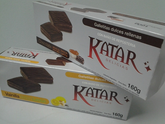 Katar Galletitas Bañadas en Chocolate