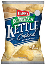 Herr´s Kettle Cooked Papas Fritas Low Fat