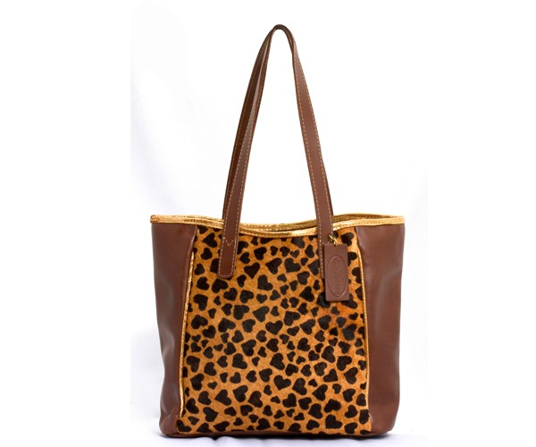 Cartera Bana Animal Print Corazon - comprar online