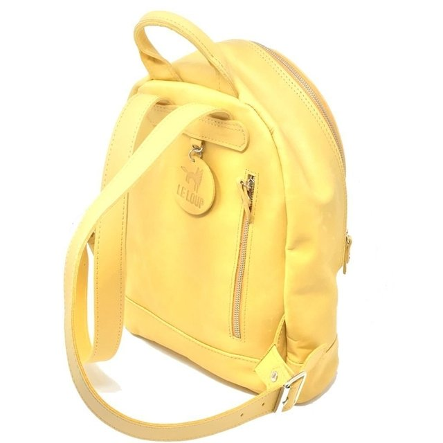 Muriel White Backpack (copia) (copia) - Le Loup