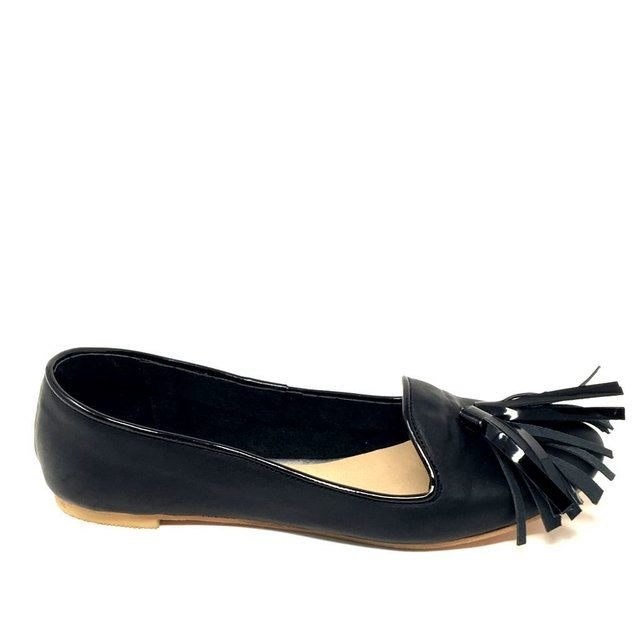 Slippers Ziggy Total Black - comprar online