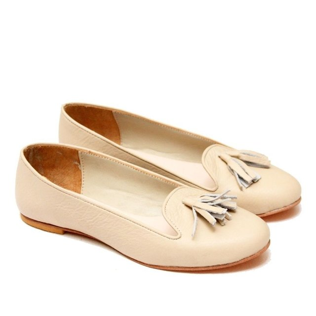 Nude Ziggy Slipper