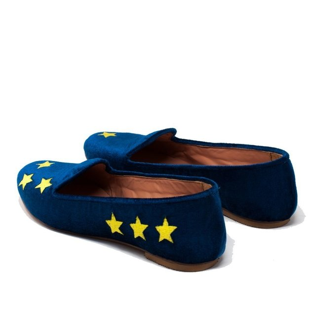 Slippers Ziggy Stardust Azul en internet