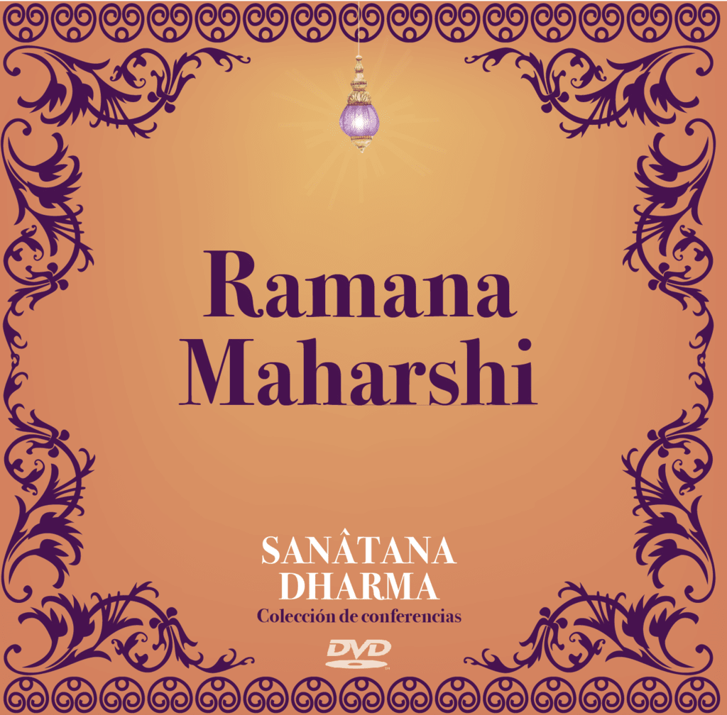 DVD Ramana Maharshi - conferencia Rubén Cedeño