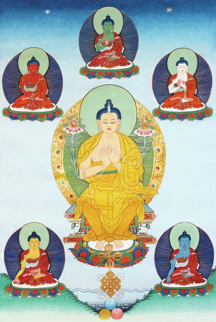 Lámina Señor Maitreya