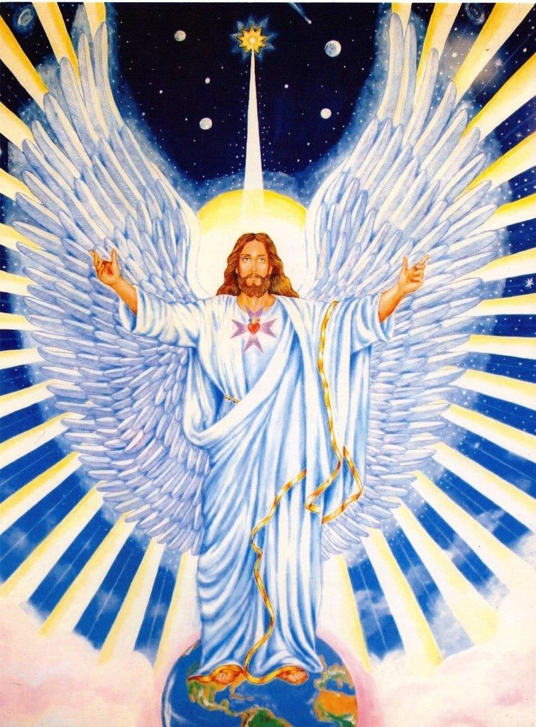Lámina del Angel Micah
