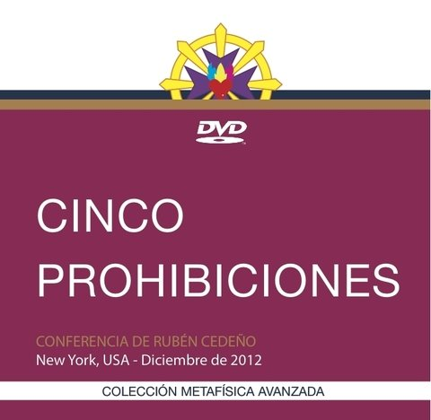 DVD Cinco Prohibiciones - Conferencia | Rubén Cedeño
