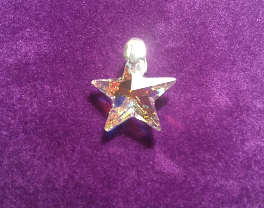 Dije Estrella (Cristal Swarovski)