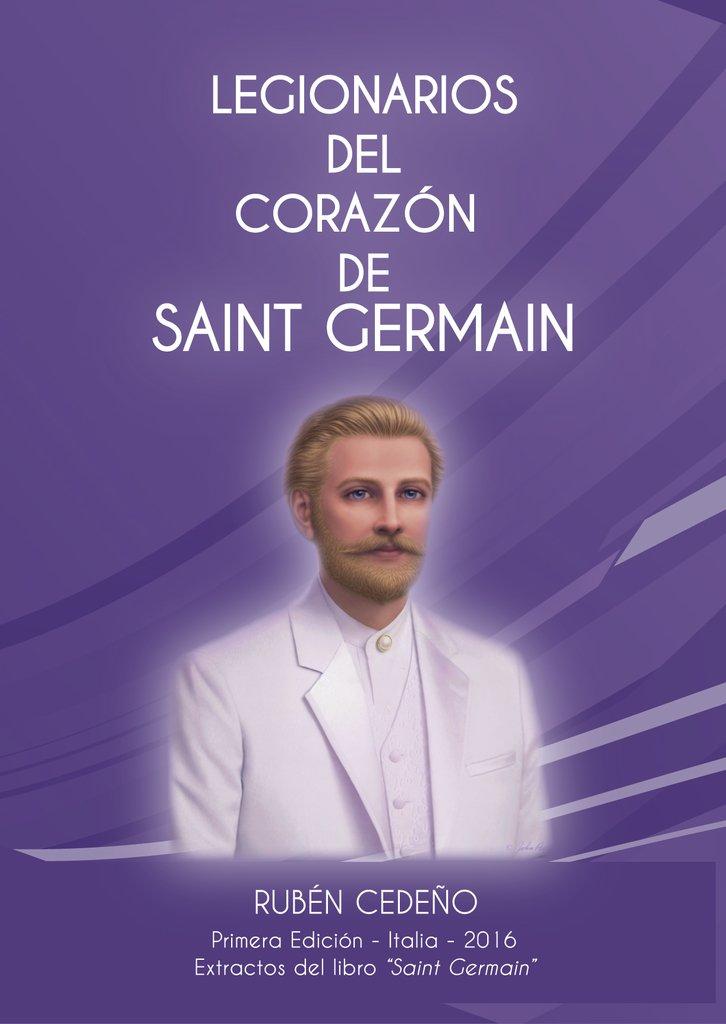 Libro Legionarios del Corazón de Saint Germain | Rubén Cedeño