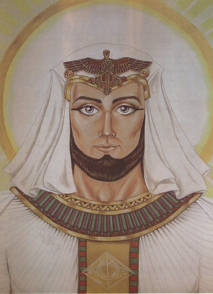 Lámina del Maestro Serapis Bey