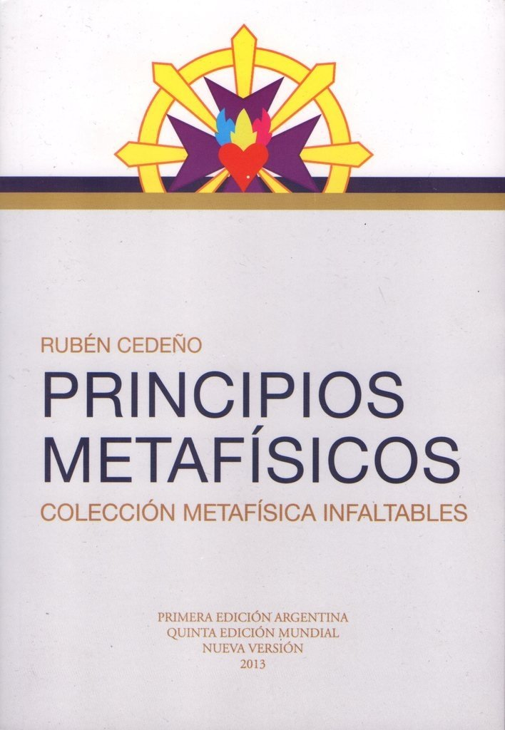 Libro Principios Metafísicos | Rubén Cedeño