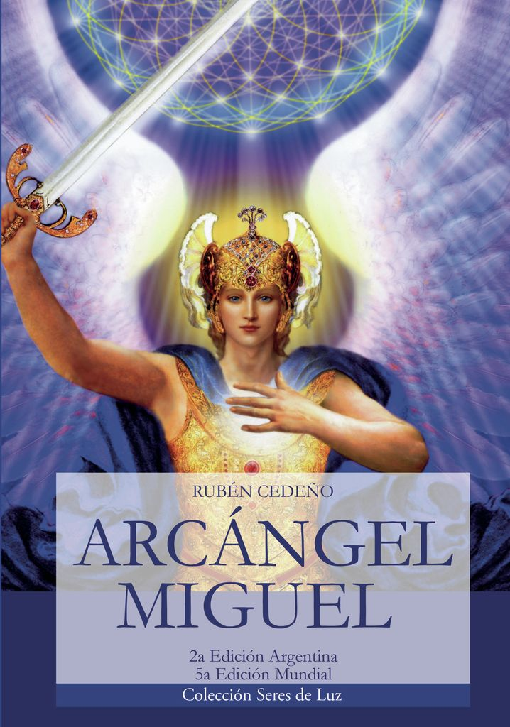 Libro Arcángel Miguel | Rubén Cedeño