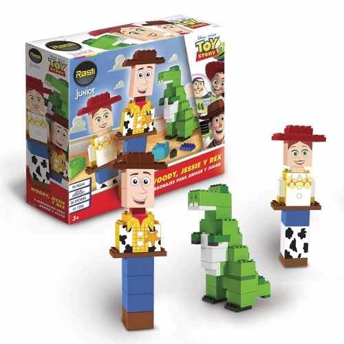 Rasti Junior Disney Toy Story Woody + Jessie + Rex 90 Piezas