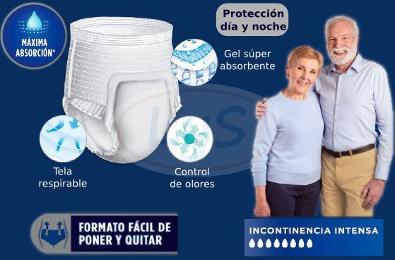 PLENITUD PROTECT PLUS ROPA INTERIOR DESCARTABLE en internet