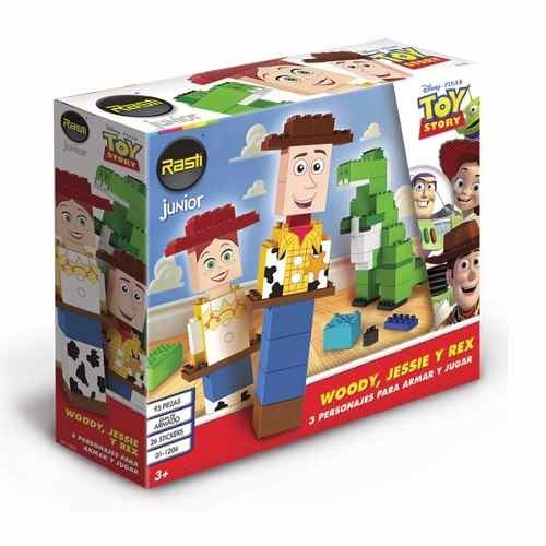 Rasti Junior Disney Toy Story Woody + Jessie + Rex 90 Piezas en internet