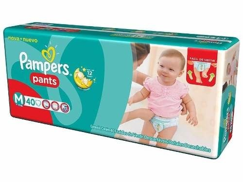 2 Hiperpacks Pañales Pampers Pants Bombachitas Descartables - comprar online