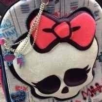 Mochila Escolar Espalda 3d Monster High Lic Original 16 Pulg en internet