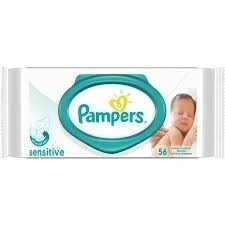 3 Pampers Toallitas Húmedas Sensitive X 56 Unidades