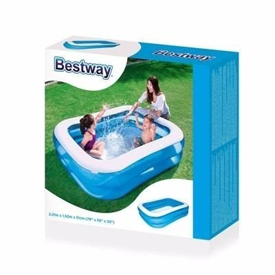 Pileta Infantil Rectangular Familiar Bestway 201x150x51cm en internet