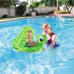Asiento Tortuga Flotador Inflable Bestway 74x96cm