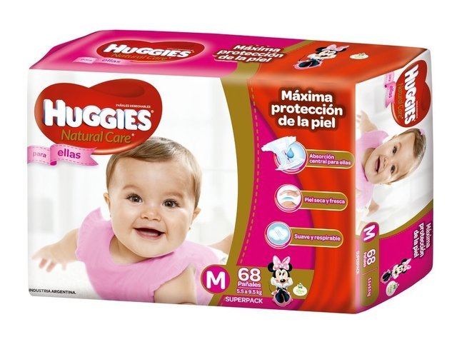 Huggies Natural Care Para Ellos y Ellas HiperPack en internet
