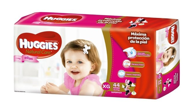 Huggies Natural Care Para Ellos y Ellas HiperPack