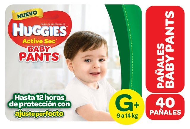 Huggies Active Sec PANTS HiperPack en internet