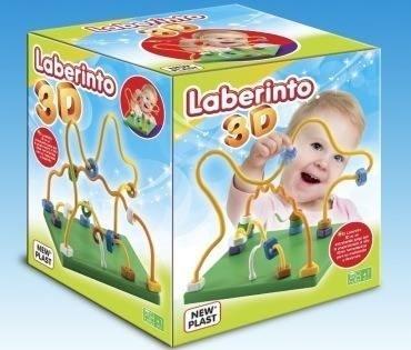 Laberinto 3d Juego Didactico Para Tu Bebe