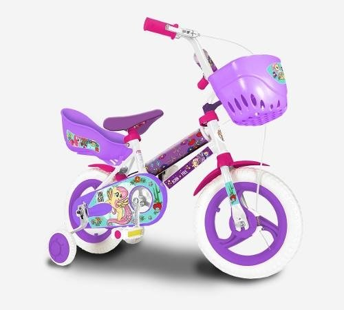 Bicicleta My Little Pony Rodado 12 - Licencia Original