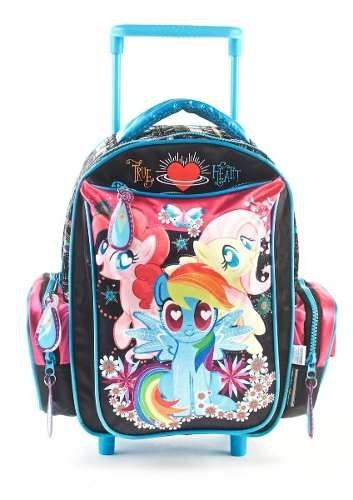 Mochila My Little Pony C/carro Glitter 12  68613