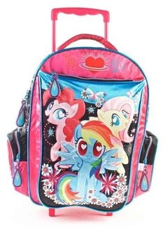 Mochila My Little Pony C/carro Glitter 17   68615