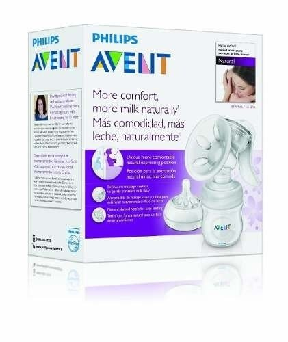 Avent Sacaleche Manual Natural + Accesorios