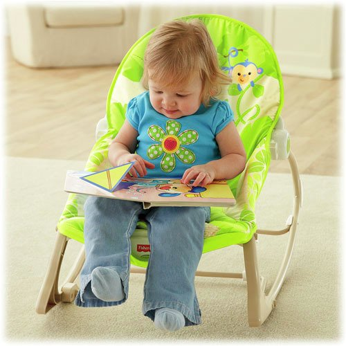 Silla mecedora rainforest friends Fisher Price en internet