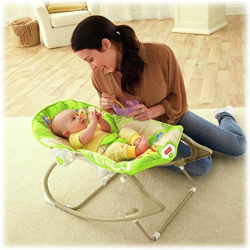 Silla mecedora rainforest friends Fisher Price - La Pañalera