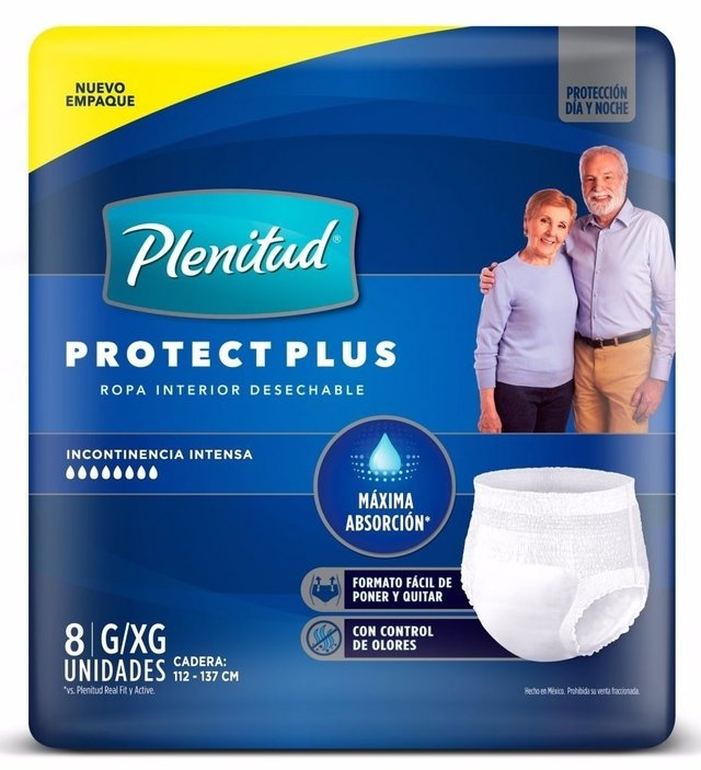 PLENITUD PROTECT PLUS ROPA INTERIOR DESCARTABLE - comprar online