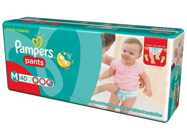 Hiperpacks Pañales Pampers Pants Bombachitas Descartables - comprar online