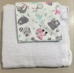 Toallon Con Capucha XL 1,15 X 0,80 Bebe-niño Baby Collection - comprar online