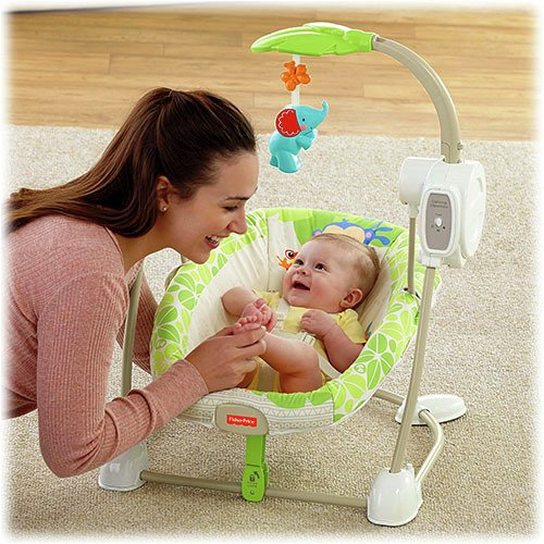 Silla Mecedora  Rainforest Friends Fisher Price - comprar online